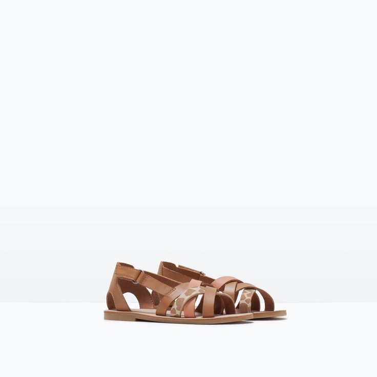SANDAL WITH COMBINED STRAPS-Shoes-Baby girl-KIDS-SALE | ZARA United States