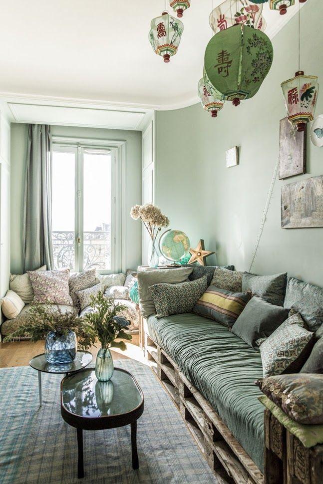 Cliquez sur les liens pour lire les articles en entier    - Jolies demeures -     Chez Sophie Duruflé à Paris