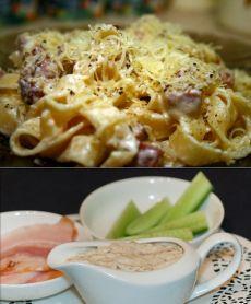 Сливочный соус с беконом / Простые рецепты