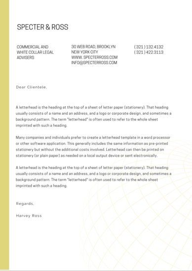 Best 25+ Free letterhead templates ideas on Pinterest Free - letterhead format word