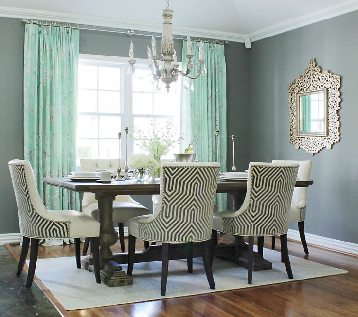 Before & After: This Dining Room Went from Blank Space to Glamorous in 5 Steps  …