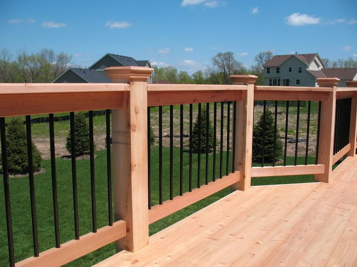 how to build rebar deck railing