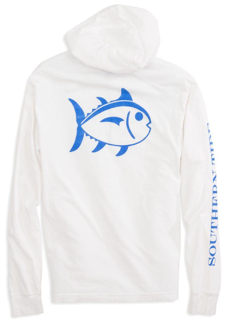 Skipjack Long Sleeve T-shirt Hoodie | Southern Tide