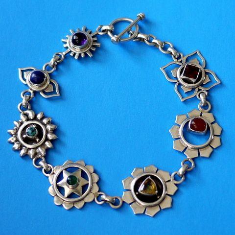 серебряный браслет, этнические украшения, чакры, непальские украшения, серебро, этника, эзотерика, талисманы, амулеты, украшения, серебряные украшения, йога, натуральные камни