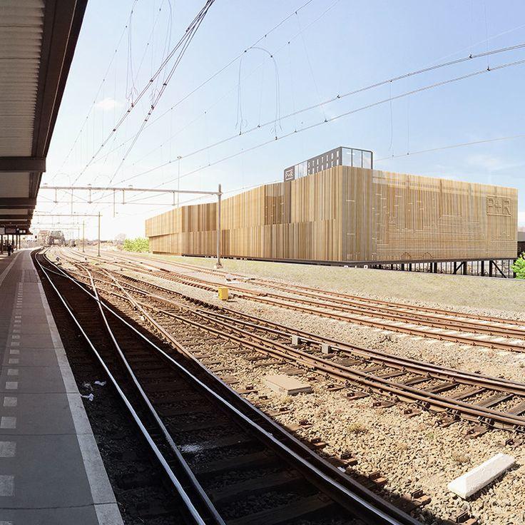 De #P&R #garage bevindt zich aan de noordzijde van de #spoorbundel en voegt zich in de reeks van gebouwen rond het spoor. Het gebied ten noorden van het #spoor is sterk in ontwikkeling. De spoorbundel is versmald en er wordenLees verder #wUrck