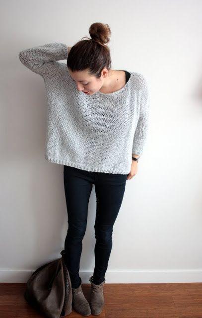 DIY - Le pull doudou des débutantes + pleins d'autres pull