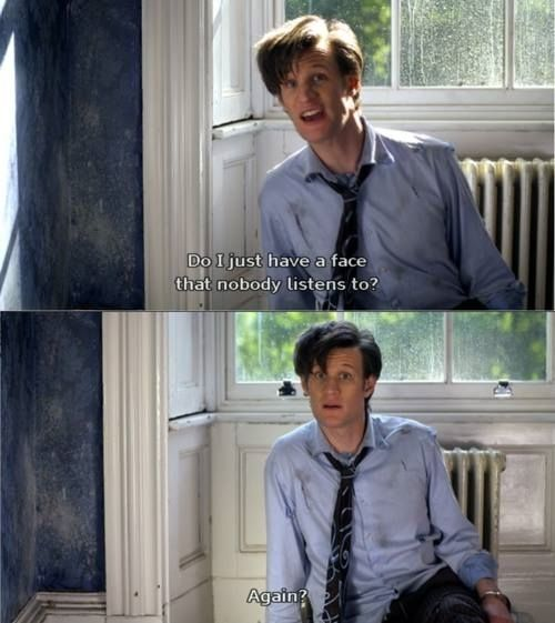 Doctor Who - 11th Doctor Quote (first ep)
