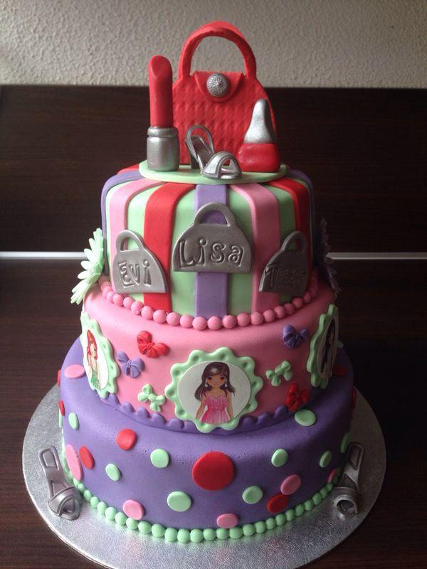 Top model cake  My sweet cakes  Torten Geburtstagstorte Kuchen