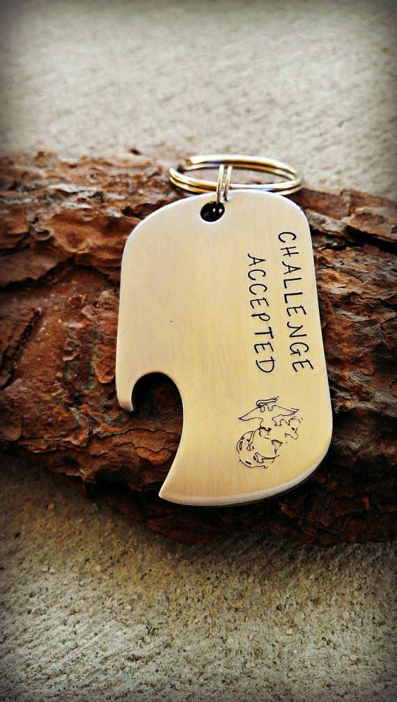 Marine Corps bottle opener  US Marines  by CharmletteDesigns, $16.00