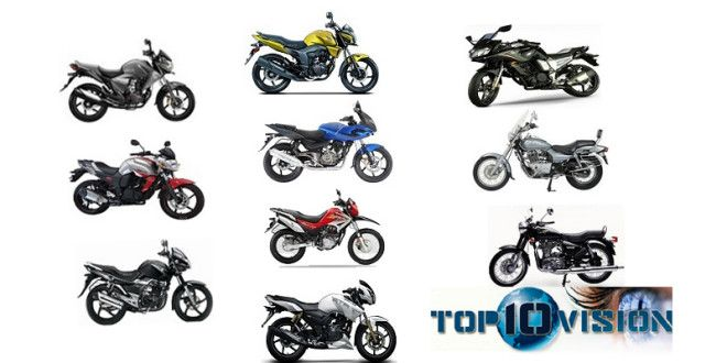 Top 10 Bikes in India 2014 Most Popular List with Showroom Price. Obtain the current Top 10 bikes in India with price for the year 2014. Here in this list we offer for top 10 bikes in India that provide adequate power. Two Wheeler's always fascinates us whether it is standard and traditional looking Royal Enfield or modern style Bajaj Pulsar.  More - http://top10vision.com/top-10-bikes-in-india-2014/