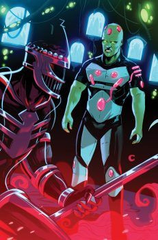 JUSTICE LEAGUE/POWER RANGERS #4 Written by TOM TAYLOR Art by STEPHEN BYRNE Cover by KARL KERSCHL