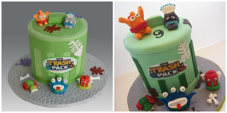 Trash Pack cake AUCKLAND