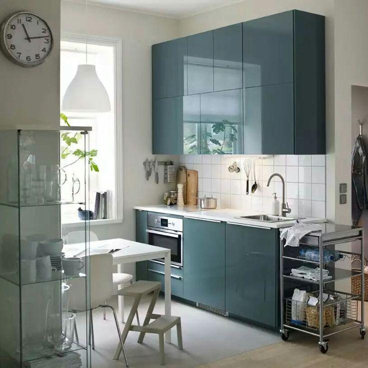 Ikea kallarp azul grisáceo