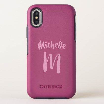 Custom Monogram phone cases - chic design idea diy elegant beautiful stylish modern exclusive trendy