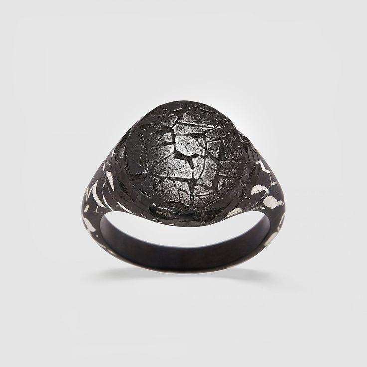 Castro Stone Heavyweight Ring (Silver)