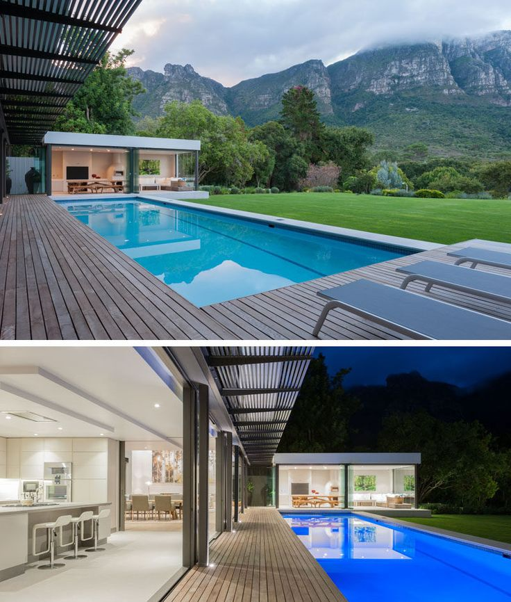 Casual Living Pools : This House In South Africa Has Views Of A World Heritage ...