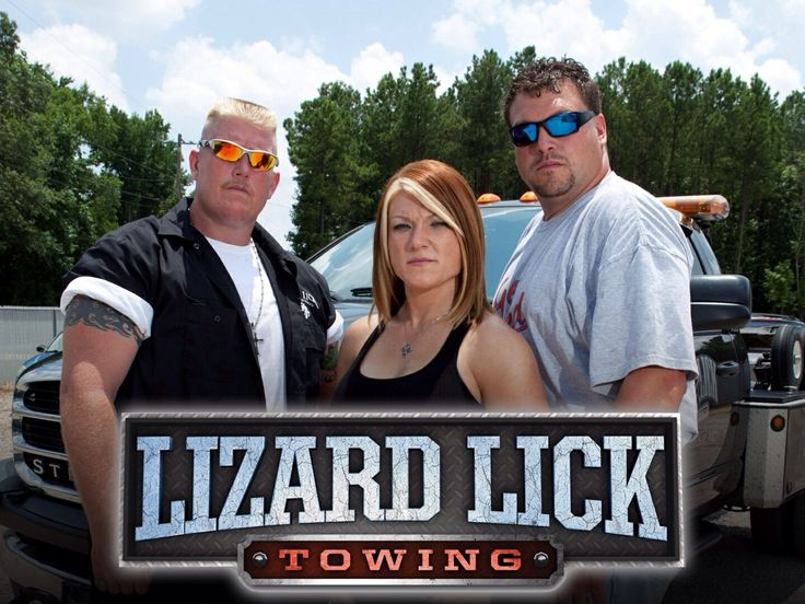Lizard lick towing; love them.