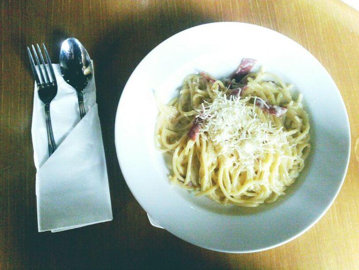 Spaghetti Carbonara....