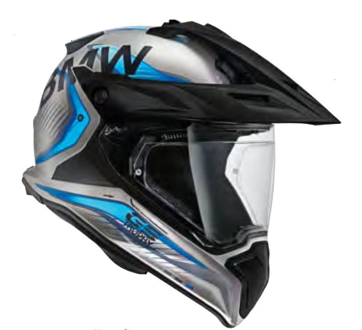 GS Helmet • Adventure helmet, perfect for touring (two helmet shell sizes available) • 100% carbon-fiber reinforced plastic shell • High-level impact reduction and safety performance • EPS inner shell