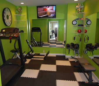 home gym small space  google search  reno ideas  pinterest