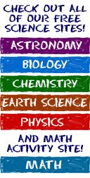 Free online Science lessons/activities for kids (astronomy, biology, chemistry, earth science, physics and even some math!)