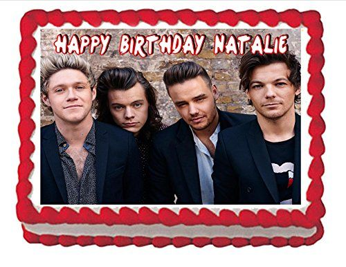 Edible Cake Topper One Direction ** Click image to review more details.
