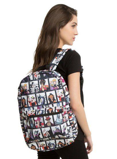 Disney Villains Mugshot Backpack Backpacks Disney Villains Disney