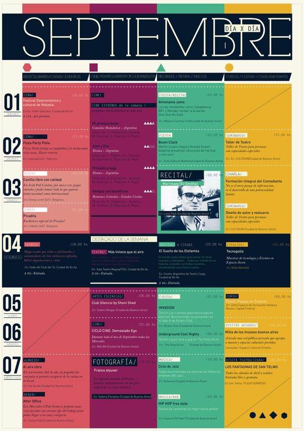 12 best Conference Program images on Pinterest Creativity - event timetable template