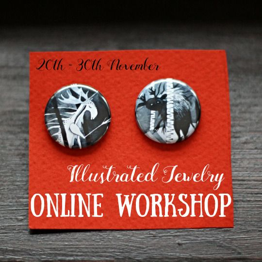Online Workshop on Skillshare from $0.99 - Join us and make wonderful jewels for your family and friends: https://www.skillshare.com/workshops/433