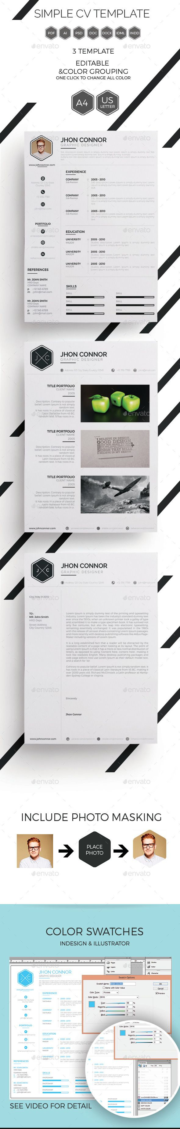 pretty simple cv template images company resume template