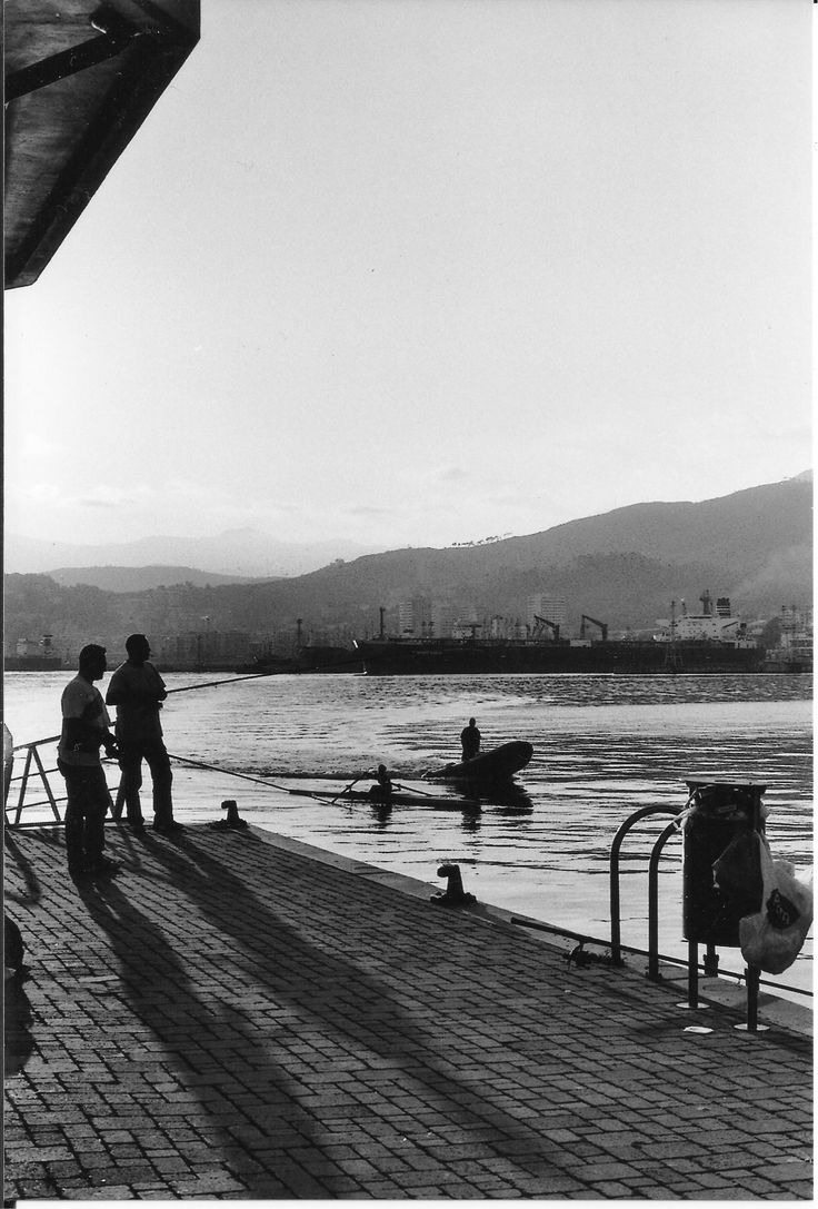 #netspashecophotography https://flic.kr/p/sEWYe2 | fishermen at Genova waterfront