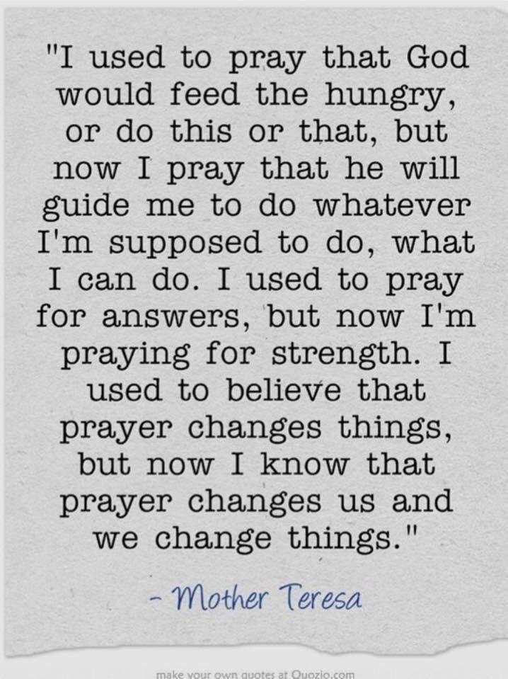 #PUSH pray until something happens