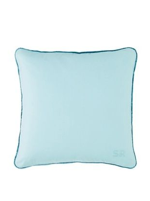 Sonia Rykiel Just For You Decorative Pillow, Emeraude (Light Green) , 35X35 cm