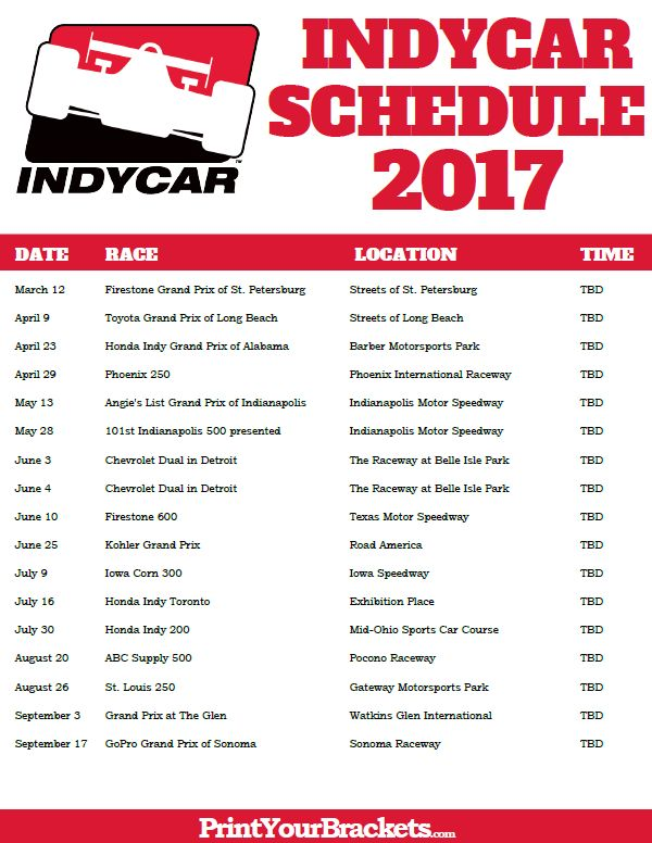 nascar race schedule at daytona