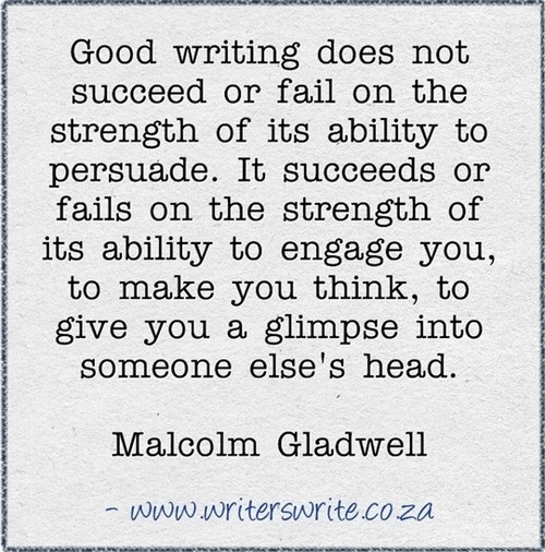 Quotable - Malcolm Gladwell