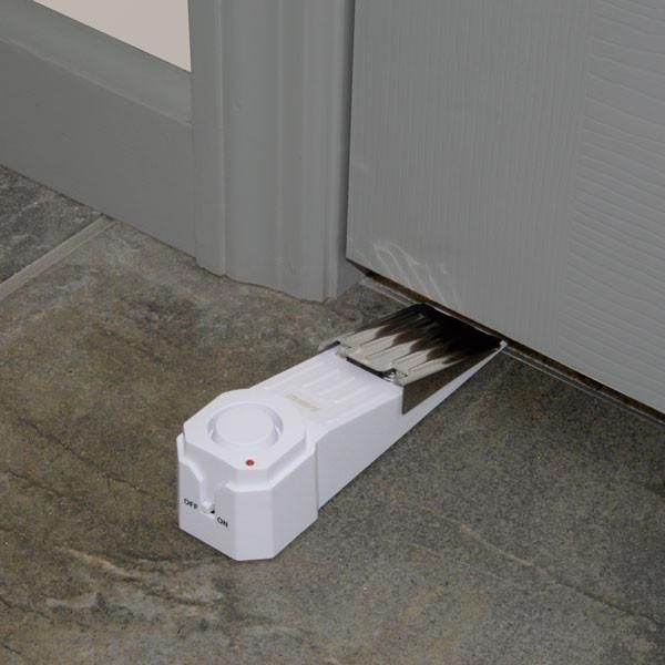 Gatekeeper Door Stop Alarm #homesecuritydoor