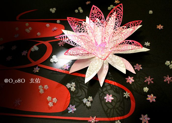 Paper cutting art by 玄佑