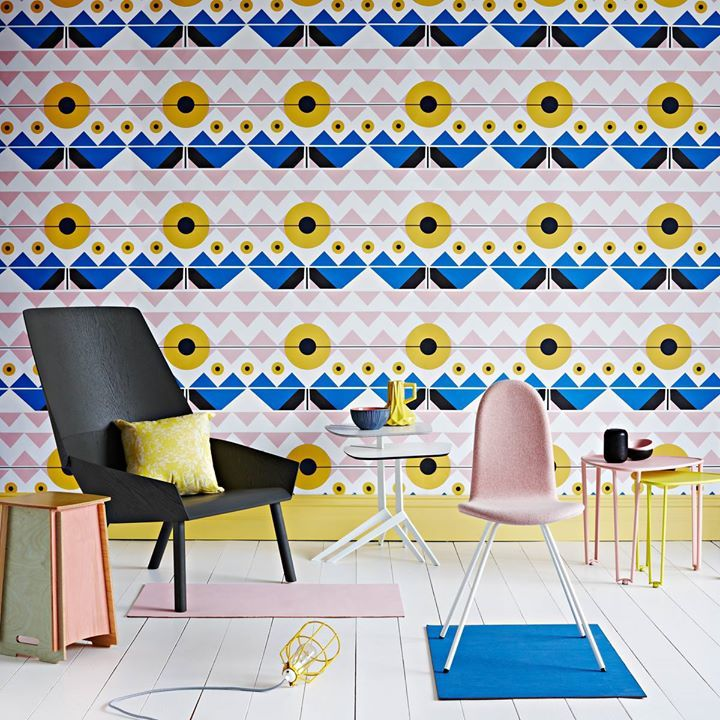 Liquorice Wallpaper by RRSTUDIO , available at Robin Sprong Wallpaper  #RRSTUDIO