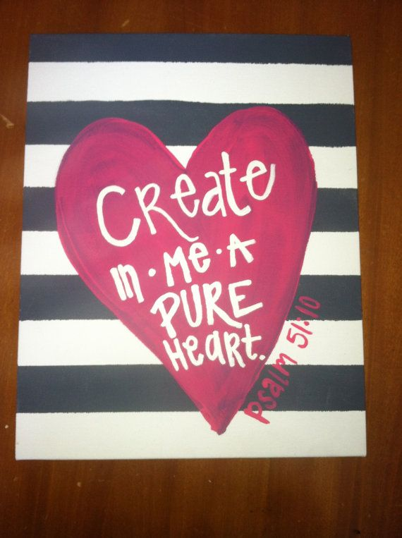 Create In Me Canvas Art by Canvasmeanings on Etsy, $20.00 Custom make!!