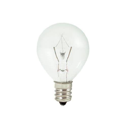 Bulbrite 461025 Pack of (10) 25 Watt Dimmable G11 Shaped Candelabra (E12) Base Xenon / Krypton Bulbs, White