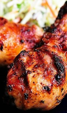 The Best Grilled Chicken Marinade Recipe~ (5.6.2016 - Drumsticks did not take the marinade well, maybe try again with boneless thighs.)