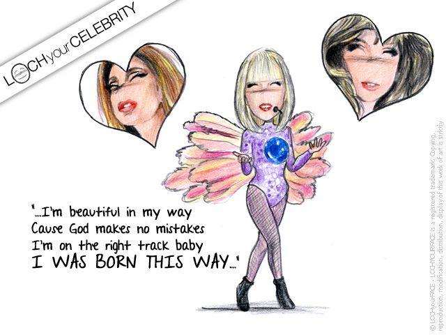 Lady Gaga, non poteva che essere lei la celebrity dopo il concertOne del 4 novembre a Milano. #ladygaga #LittleMonsters