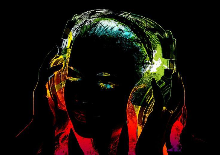 Pic by Gerd Altmann . #art #digitalart #music #musiclover #colors
