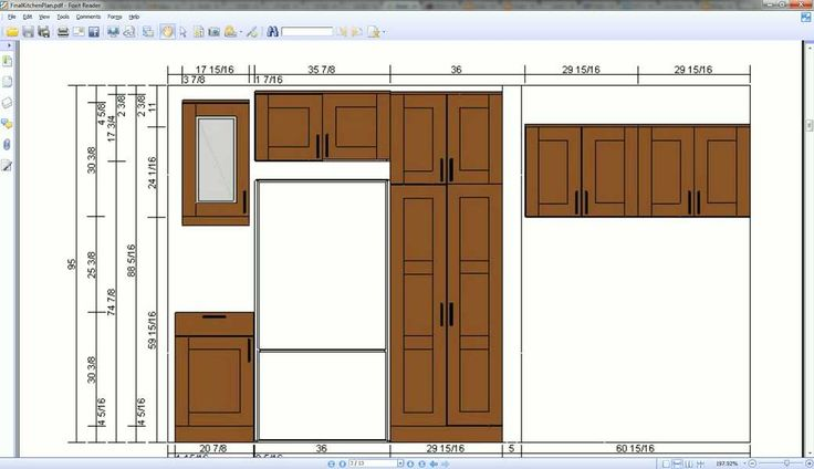 Kitchen cabinet height standard you should follow for Most expensive kitchen cabinets