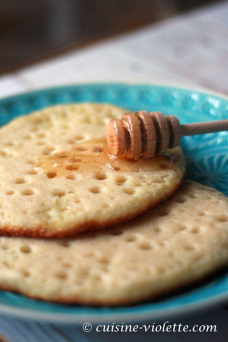 Marokkanische Pfannkuchen - Baghrir