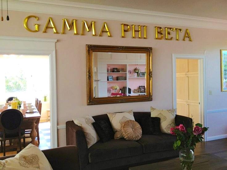 Pink Palace Living Room Renovation Gamma Phi Beta Cal Poly SLO 2012 Part 98