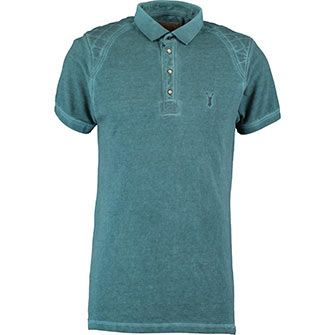 Pearly King Teal Polo Shirt