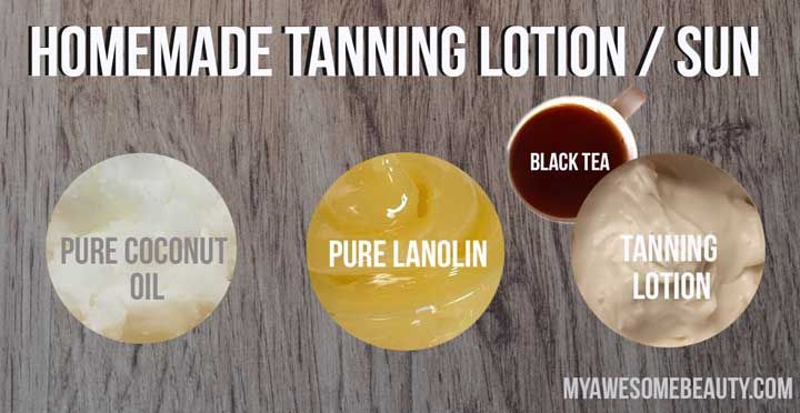 Homemade Tanning Lotion Step-by-Step recipes that will dramatically accelerate your tan whether you want a sunless self tanner or a tan accelerator for the sun and the salon.