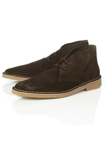 Nevada brown desert boots