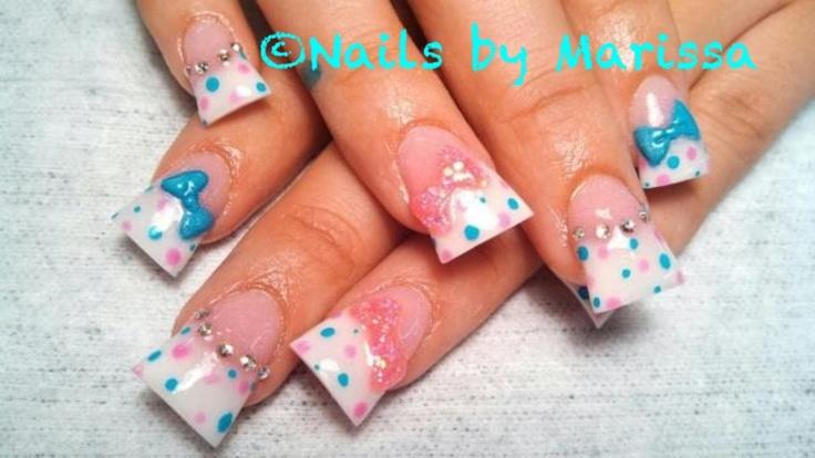 innovative animal print acrylic nail designs looks inspiration article - Spring Acrylic Nail Designs – Slybury.com